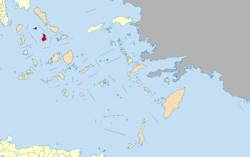 Syros w South Aegean
