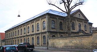 Bygningskulturens Hus - The building from Gernersgade