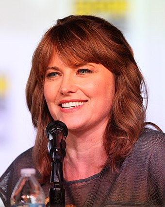 Lucy Lawless, New Zealand actress. 20120713 Lucy Lawless @ Comic-con cropped.jpg