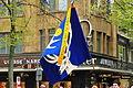 2012 Sechseläuten - Gesellschaft zu Fraumünster - Flagge 2012-04-16 14-50-24.JPG