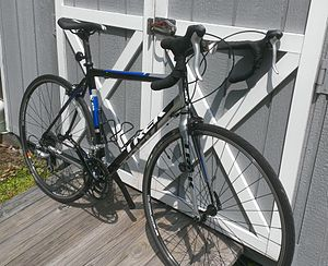 Trek Bicycle Corporation - A aluminum framed, 2012 Trek 1.1 Road Bike