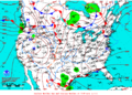 2013-01-08 Surface Weather Map NOAA.png