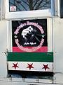 2013-03-02 Free Syria from Assad Plakat Syrische Revolution Koordination Hannover Karmarschstraße.jpg