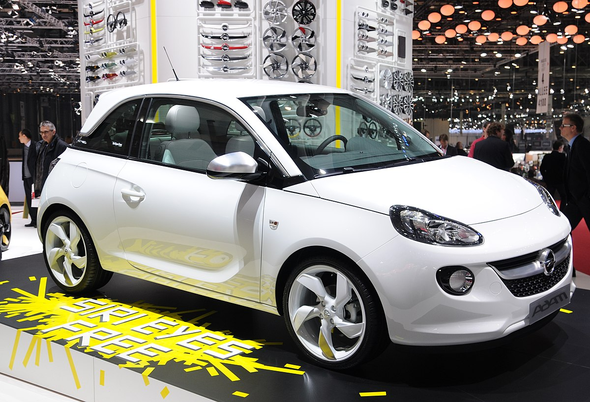 opel adam wikipedia. Black Bedroom Furniture Sets. Home Design Ideas