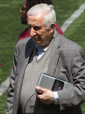 Sid Hartman - Hartman covering the 2013 Minnesota Gophers Spring Game