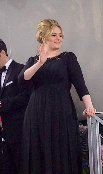 Adele - Adele at the 70th Golden Globe Awards in Beverly Hills, California, on 13 January 2013