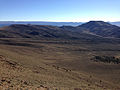 2014-10-19 09 14 46 View east-northeast across the upper end of Meadow Canyon from about 9740 feet along a trail north of Jefferson Summit, Nevada.JPG