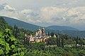 2014 Nowy Aton, Widok na Monaster Nowy Athos (02).jpg