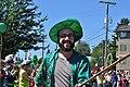 2015 Fremont Solstice parade - green hat donation squad 01 (19314643571).jpg