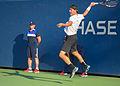 2015 US Open Tennis - Qualies - Jose Hernandez-Fernandez (DOM) def. Jonathan Eysseric (FRA) (20973217401).jpg