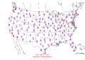 2016-04-08 Max-min Temperature Map NOAA.png