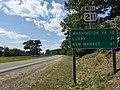 2016-09-06 14 39 11 View west along U.S. Route 211 (Lee Highway) just west of Woods Edge Lane in Amissville, Rappahannock County, Virginia.jpg