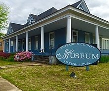 St. Francis County Museum in Forrest City, Arkansas.