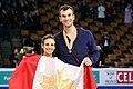 2016 Worlds - Duhamel & Radford victory ceremony - 03.jpg