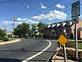 2017-06-02 17 20 38 View west along Maryland State Route 922 (Churchville Road) at Hays Street in Bel Air, Harford County, Maryland.jpg