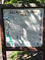 2017-08-19 10 29 42 Bull Run-Occoquan Trail Map at the entrance to Hemlock Overlook Regional Park in southwestern Fairfax County, Virginia.jpg