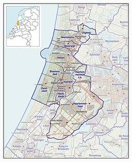Veiligheidsregio Kennemerland Wikipedia