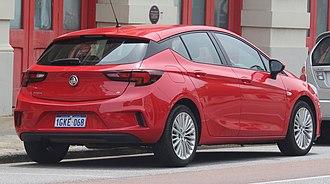 Hatchback - Holden Astra