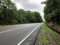 2018-07-22 09 16 33 View north along New Jersey State Route 445 (Palisades Interstate Parkway) between Exit 1 and Exit 2 in Tenafly, Bergen County, New Jersey.jpg