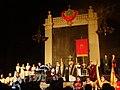 2018 03 17 Basilica del Pi - Representació del Retaule de Sant Josep Oriol 04.jpg