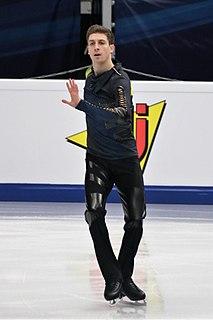 Morisi Kvitelashvili Russian-Georgian figure skater