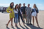2018 Miss USA pageant contestants visit Barksdale Air Force Base.jpg