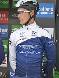 James Oram New Zealand bicycle racer