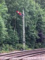2018 at Pitlochry station - signal 21 (down starter).JPG
