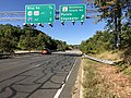 2019-09-24 09 57 10 View west along Maryland State Route 665 (Aris T. Allen Boulevard) at the exit for Maryland State Route 2-Solomons Island Road (Parole, Edgewater) in Annapolis Neck, Anne Arundel County, Maryland.jpg