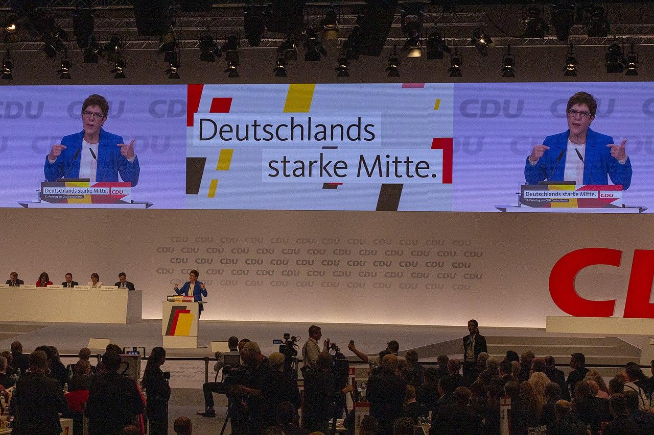 2019-11-22 Annegret Kramp-Karrenbauer CDU Parteitag by OlafKosinsky MG 5455.jpg