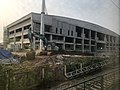 201906 Liufang-Guanggu Station Building under Construction.jpg