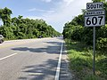 2020-06-22 16 28 25 View south along Maryland State Route 607 (Magothy Bridge Road) at Maryland State Route 177 (Mountain Road) in Pasadena, Anne Arundel County, Maryland.jpg