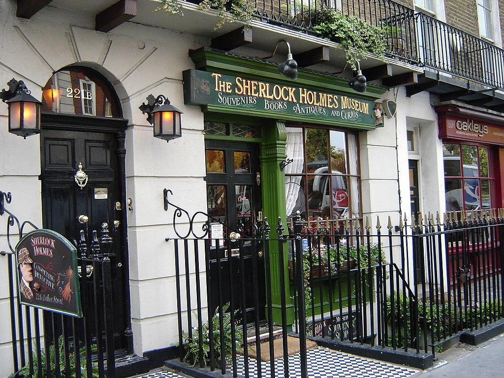 Sherlock Holmes Baker Street 221b