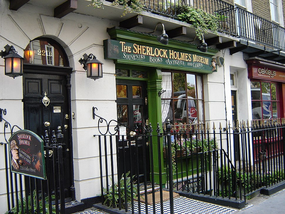 221B Baker Street, London - Sherlock Holmes Museum