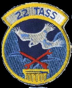 22d Tactical Air Support Squadron - Emblem.png