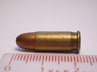 Full metal jacket bullet - Image: 25 ACP FMJ SB 2