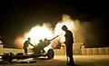 26 Regt Royal Artillery Night Firing At Camp Bastion MOD 45157873.jpg