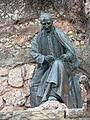 297 Montserrat, camí dels Degotalls, monument a Jacint Verdaguer, de Carles Flotats.JPG