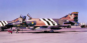 311th Fighter Squadron - 311th TFTS F-4C-19-MC Phantom 63-7584, marked as Wing Commander's aircraft.  Now at McChord Air Museum, Washington.