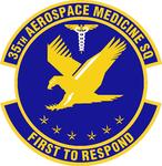 35 Aerospace Medicine Sq emblem.png
