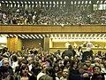 """4. Bucuresti, Romania. Sala Palatului. Spectacolul """"Lord of the Dance"""". Sala de spectacole plina. Aprilie 2018.jpg"""