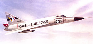 4756th Air Defense Wing - F-102 Delta Dagger of the wing at Tyndall AFB in 1960