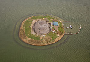 Muiden - Fort Pampus in 2013