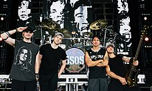 5 Seconds Of Summer sur scène en 2015