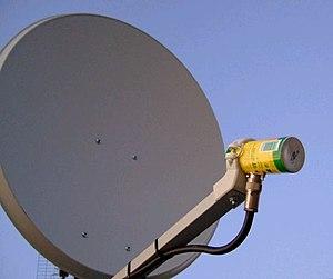 Cantenna - 5.5 GHz cantenna as a feed horn