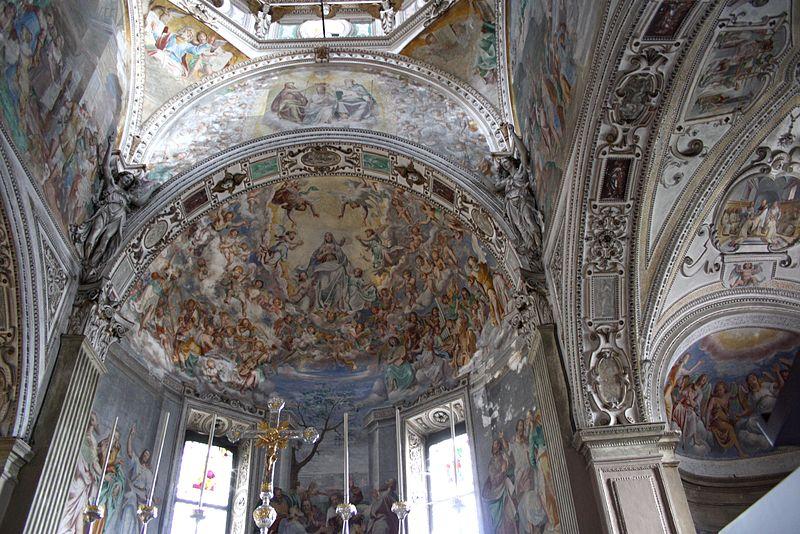 File:6118 - Pallanza - Madonna di Campagna - Abside - Foto Giovanni Dall'Orto, 22 Oct 2011.jpg