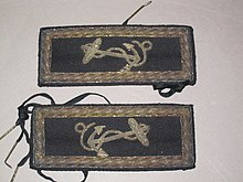 Shoulder Straps Used By Passed Midshipman TR Young On The USS Brandywine Were Tied To Uniform Coat With Shoe Strings