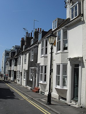 Grade II listed buildings in Brighton and Hove: C–D - Image: 8–19 Camelford Street, Brighton (Io E Code 479516)