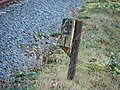 9¼ Milepost, Vale of Rheidol Railway - geograph.org.uk - 690104.jpg