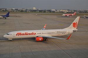 Malindo Air - Malindo Air Boeing 737-900ER at Bangkok Don Mueang Airport